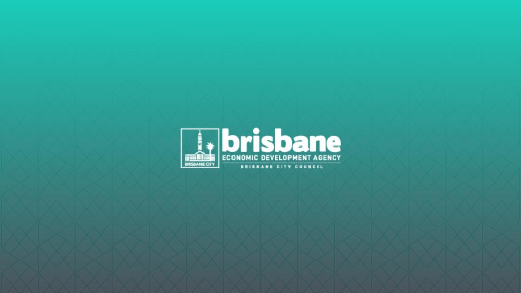 Brisbane Economic Development Agency Logo Green